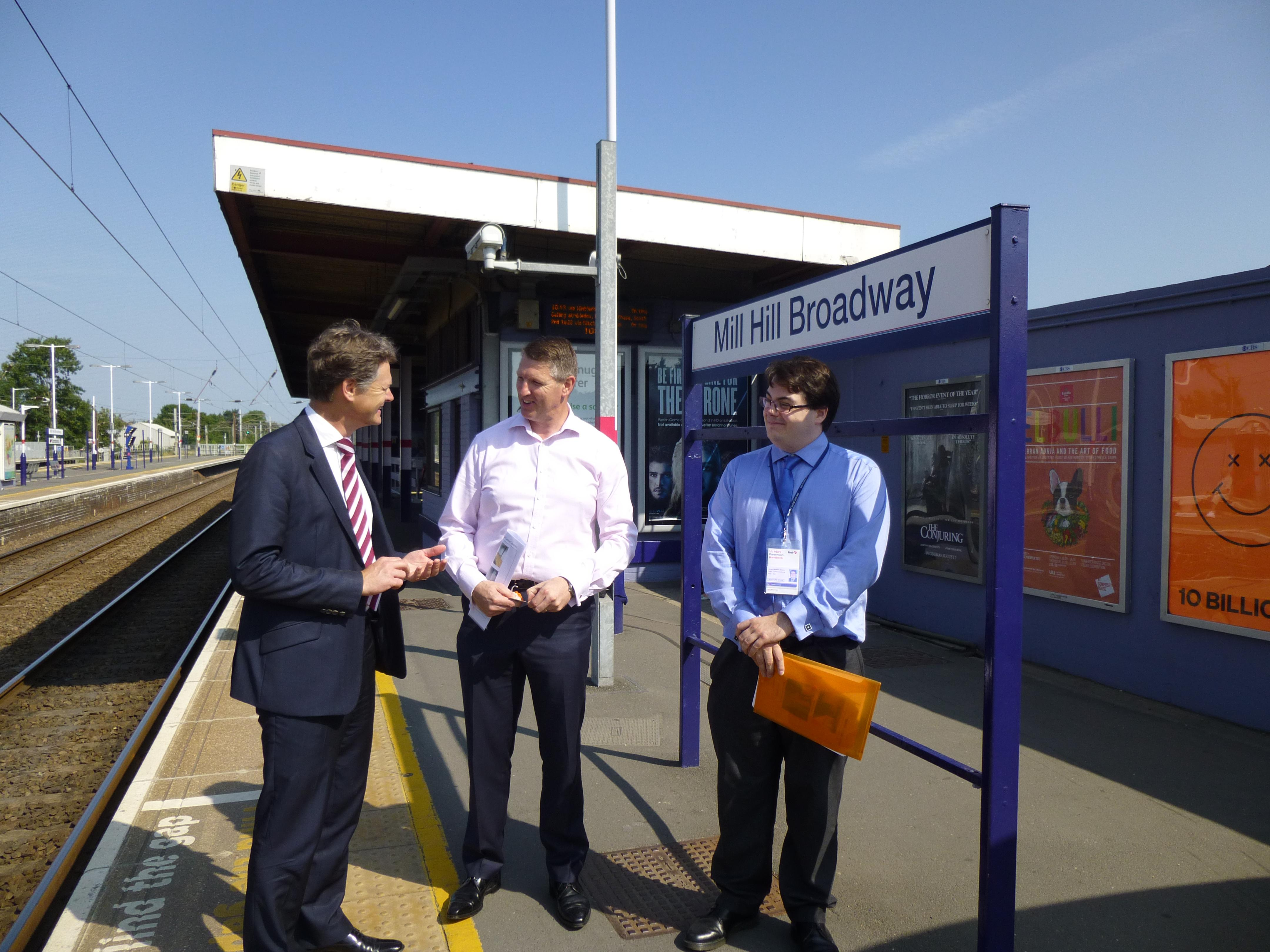 New Brighton Ford >> Step-Free Access at Mill Hill Broadway Station | Matthew Offord