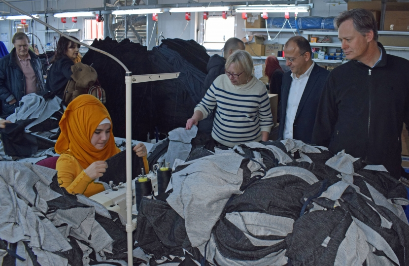 Surian Refugee Camp Manufacturing