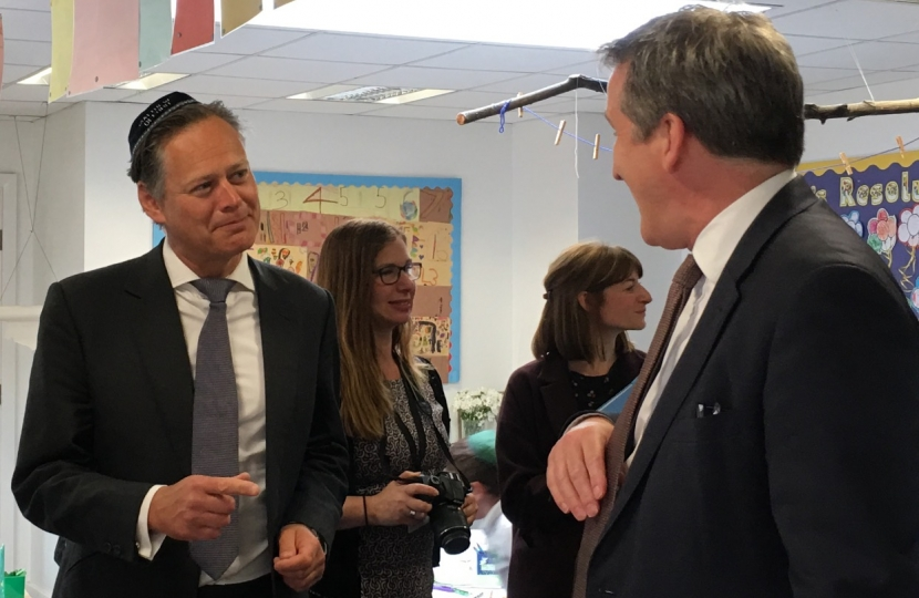 Matthew Offord and the Education Secretary