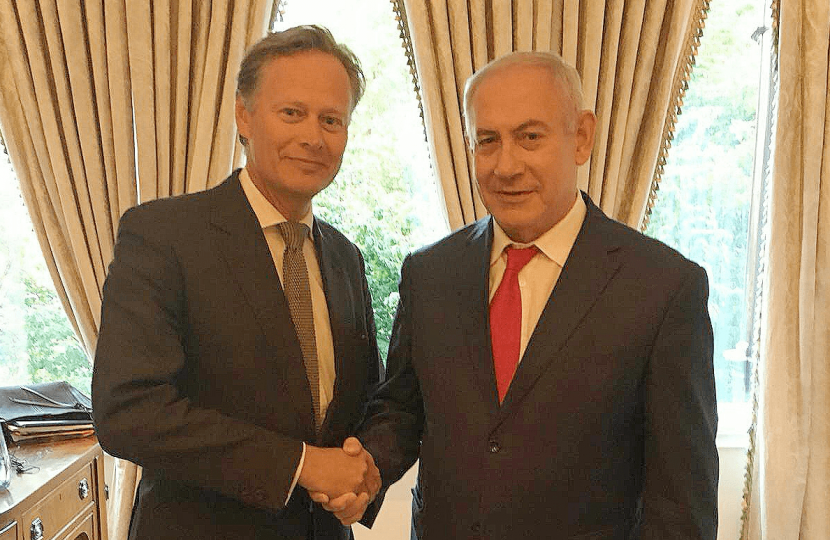 Matthew Offord with PM Netanyahu