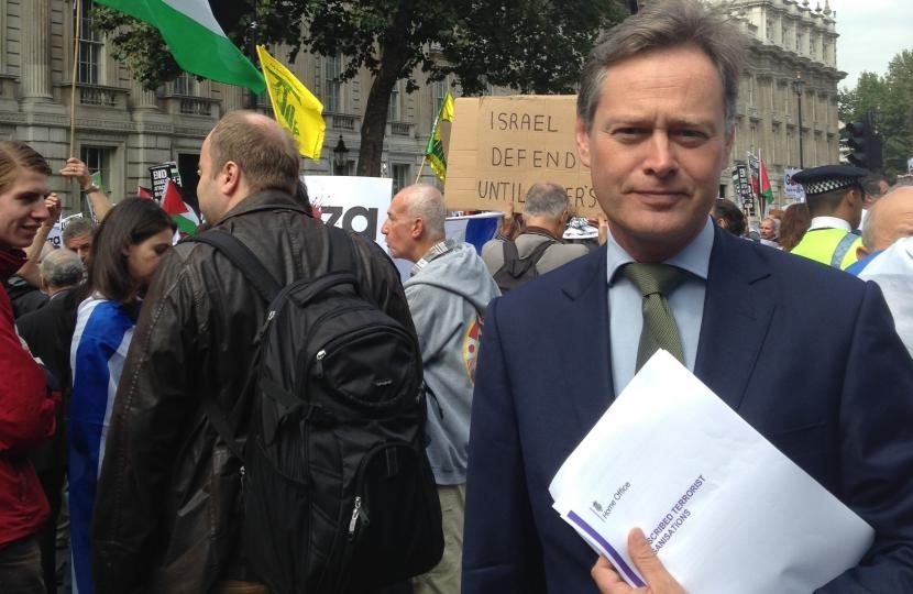 Matthew Offord MP welcomes ban on Hezbollah