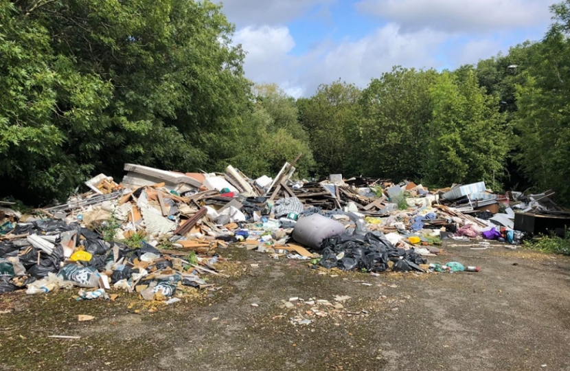 Fly-Tipping, Mill Hill