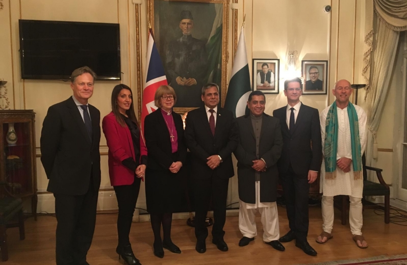 Matthew Offord MP at Pakistani High Commission