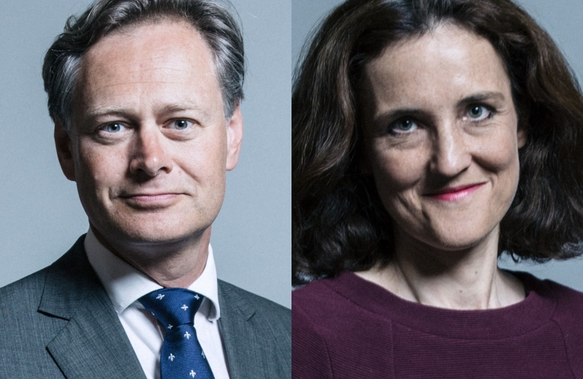 Matthew Offord MP & Theresa Villiers MP