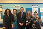Matthew Offord MP at Copthall School